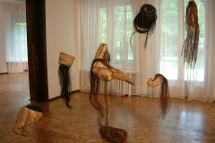 """Installation, exhibition, archive """"Moz – Muse II"""", Gallery """"526"""", Lodz, Poland"""
