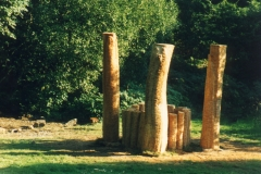 Site specific, exhibition,  The Grizedale Forest, Lake District, England